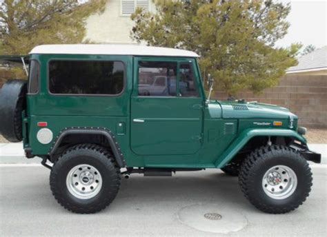 toyota go and see find used 1974 toyota fj 40 land cruiser restored show