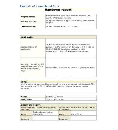 Scaffold Handover Certificate Template Scaffold Handover Certificate Template Equipment Handover