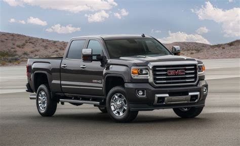 2016 Gmc Sierra 2500 Specs And Redesign