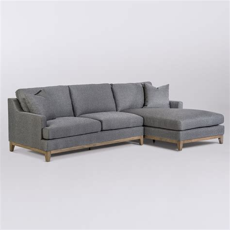 grant sectional  facing chaise raf alder