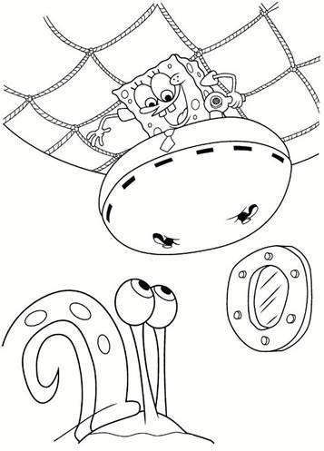 kids  funcom  coloring pages  spongebob squarepants