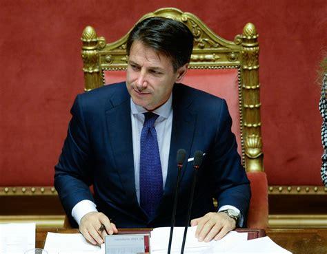 il presidente consiglio dei ministri il premier conte ha riferito in parlamento sull inchiesta
