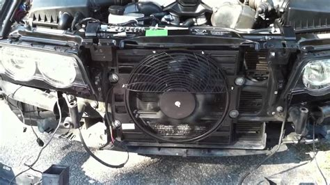 bmw aux fan new