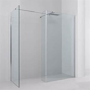 Paroi De Douche 160 : paroi de douche fixe avec retour 170x90 cm altea ~ Edinachiropracticcenter.com Idées de Décoration