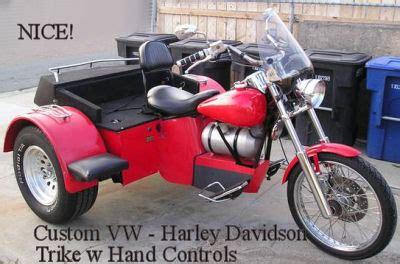 custom vw trike for disabled rider