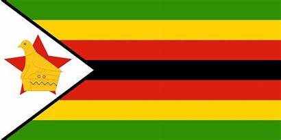 Flagge Simbabwe Country Flags Bedeutung