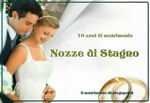 IL MATRIMONIO DI 10 Anno Di Matrimonio QuotNozze Di