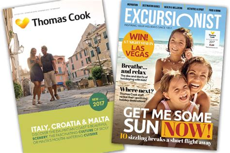 Thomas Cook to shift away from brochures to magazines ...