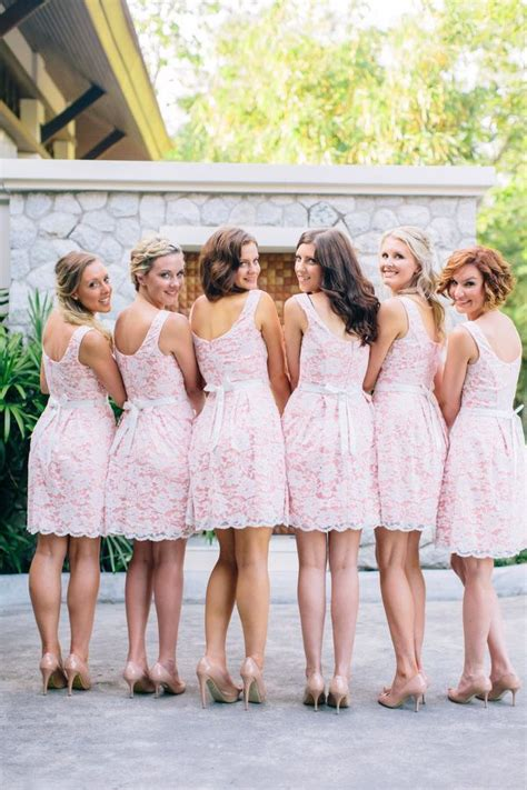 wedding bridesmaid lace bridesmaid dresses bridal