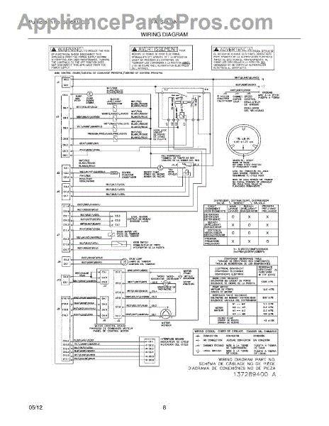 parts for frigidaire fafs4174na0 wiring diagram parts appliancepartspros