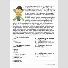 Reading Comprehension For Beginner And Elementary Students 4 Worksheet  Free Esl Printable