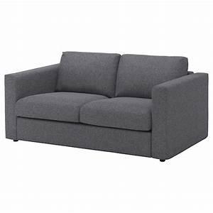 Ikea Vimle Erfahrung : vimle cover for 2 seat sofa gunnared medium grey ikea ~ Watch28wear.com Haus und Dekorationen