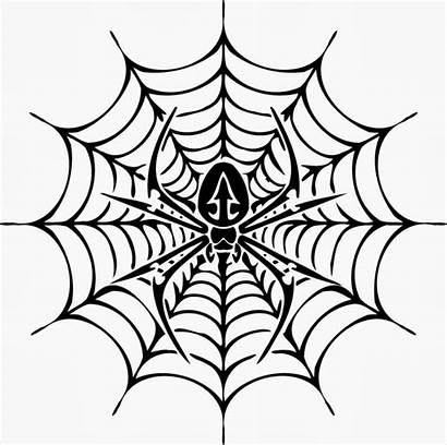 Spider Web Coloring Pages Word Drawing Tattoo
