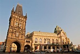 Photo/Picture Powder Tower and Municipal House in Prague's ...