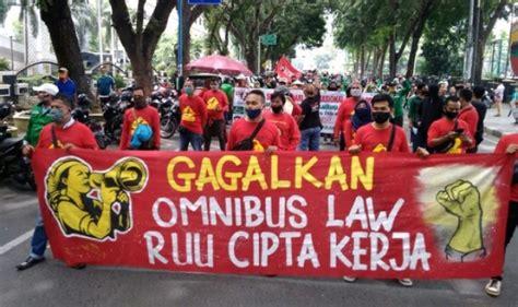 kabar buruh demo besar besaran kian santer dpr percepat pengesahan omnibus law ciptaker hari