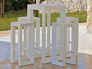 Mange Debout Jardin : vela table de jardin by vondom ~ Teatrodelosmanantiales.com Idées de Décoration