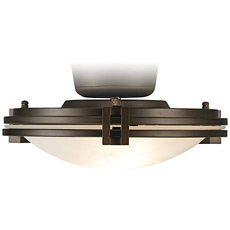 bronze fan pull chain pull chain oil rubbed bronze w alabaster glass light kit