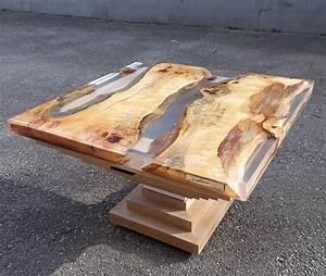 Table En Bois Et Resine : table basse en r sine et bois table basse r sine en 2019 table furniture et home decor ~ Dode.kayakingforconservation.com Idées de Décoration