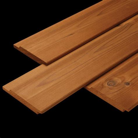 Shiplap Cladding by 25mm X 150mm Arborclad Thermal Timber Redwood Shiplap