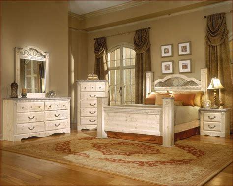 standard furniture poster bedroom set seville st set