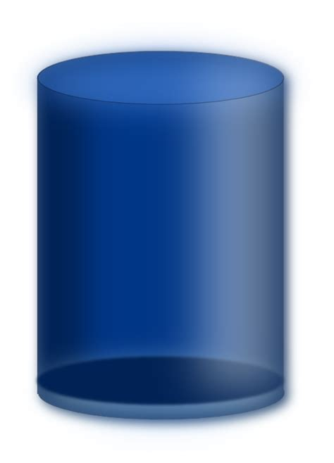 Blue Cylinder Clipart  I2clipart  Royalty Free Public
