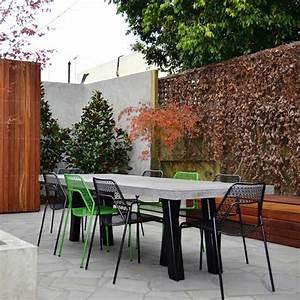 Salon De Jardin En Pierre : tables de jardin en marbre et pierre durables et esth tiques ~ Teatrodelosmanantiales.com Idées de Décoration