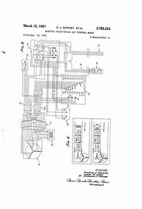 Patent Us2785324 - Electric Hoist Wiring And Terminal Means
