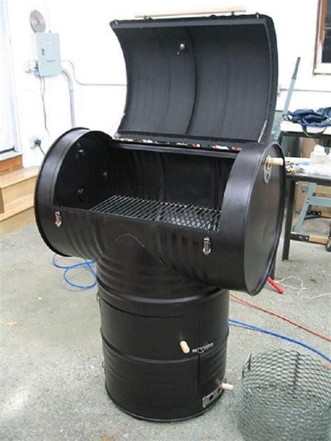 inexpensive diy smoker grill ideas   bbq party