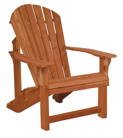 cedar wood traditional adirondack chair from dutchcrafters