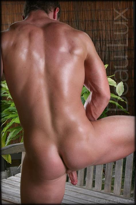 Naked Muscled Hunk Beau Lux Legend Mens Newest