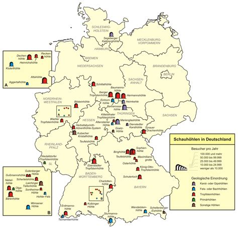 list  show caves  germany wikipedia