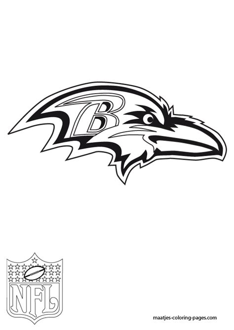 baltimore ravens coloring pages