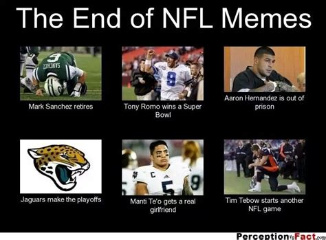 Nfl Memes Funny - ha the end of nfl memes nfl and college football pinterest seasons football and facebook