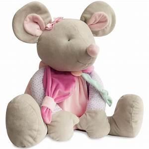 Peluche Geante Elephant : peluche g ante souris pearly doudou et compagnie dc2982 ~ Teatrodelosmanantiales.com Idées de Décoration