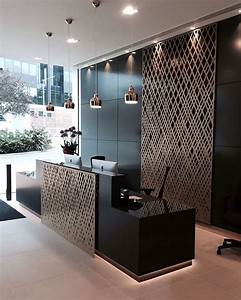 best modern reception area ideas on pinterest office part With kitchen cabinet trends 2018 combined with woven wall art target