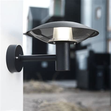 nordlux discos outdoor 30 wall light black