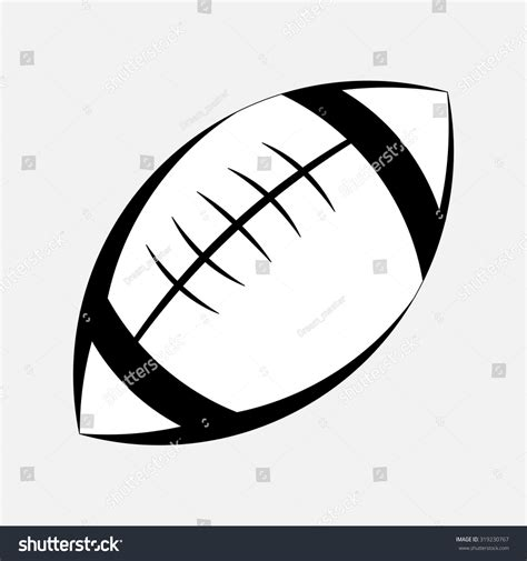 american football lace vector pictogram american football stock vector