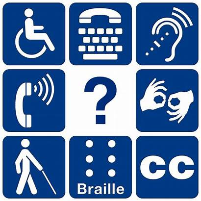 Universal Disability Symbols Humanities Modified Ixd Accessibility