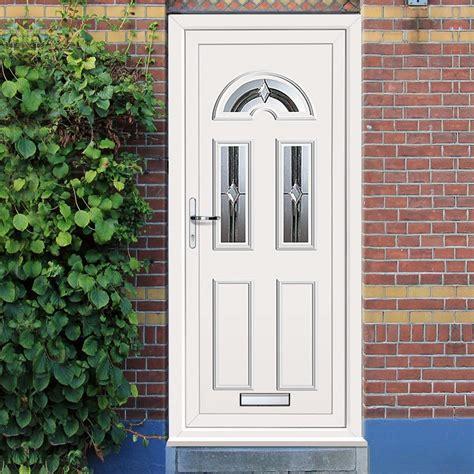 Exterior Pvc Lomond Three Agate Door  External White Pvc