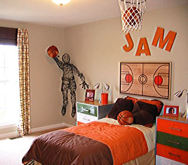 deco chambre basket basketball bedroom decor ideas for boys
