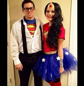 DIY Clark Kent and Wonder Woman costumes #diy #wonderwoman ...