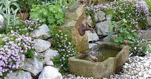 Naturstein Im Garten : wandbrunnen f r den garten mein sch ner garten ~ A.2002-acura-tl-radio.info Haus und Dekorationen