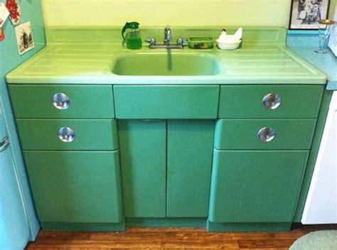 vintage metal kitchen cabinets with sink 33 best images about metal kitchen cabinets on