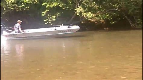 Alweld Boats Youtube by Etec 90 65 Jet Skinny Water Alweld 1652j Youtube