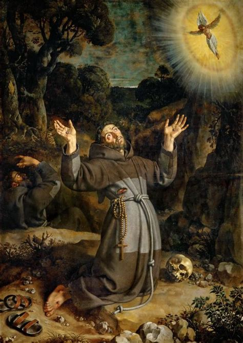 francis of assisi receiving the stigmata 1620 louvre museum frans pourbus the younger