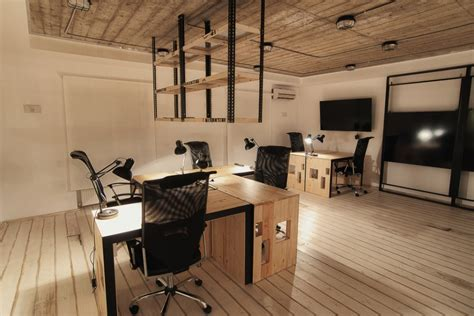 rustic modern office modern rustic office new harbor farm office pinterest floor desk office interiors and