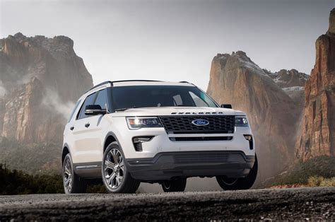 2018 Ford Explorer Sport Review Specs Design Price And