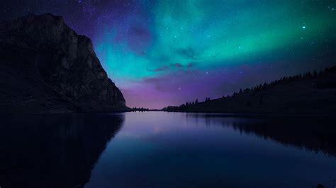 Wallpaper Lake Aurora, 4k, Hd Wallpaper, Florida, Night