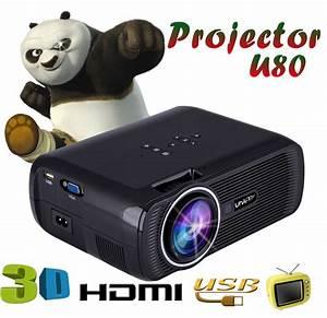 Uhappy U80 Wireless Sync Display Wifi Projector  Us