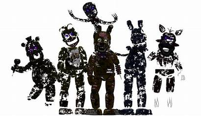 Fnaf Stylized Characters Filler Fivenightsatfreddys